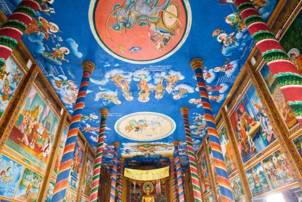 100 Pillars Pagoda