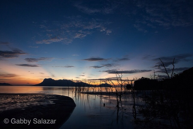 Sunset at Bako National Park, Sarawak, Borneo