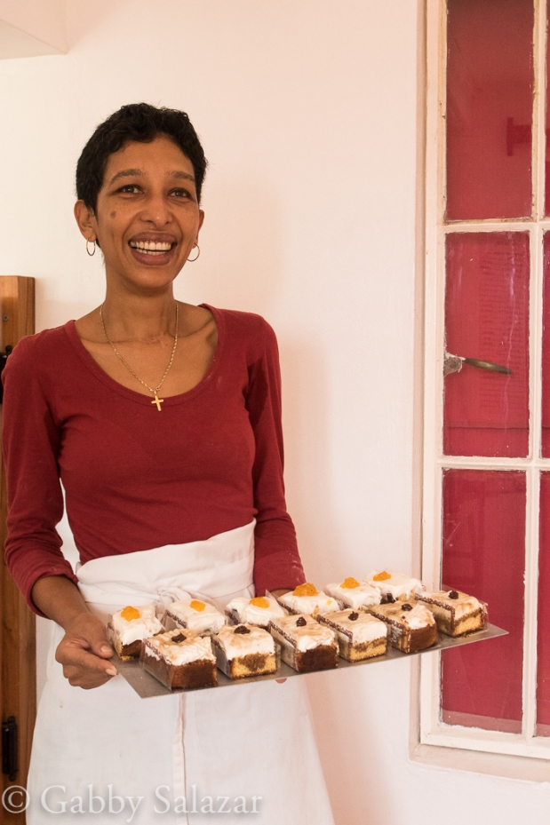 Valerie's, a local bakery and confiture shop in the town of Citronelle, Rodrigues, Mauritius.