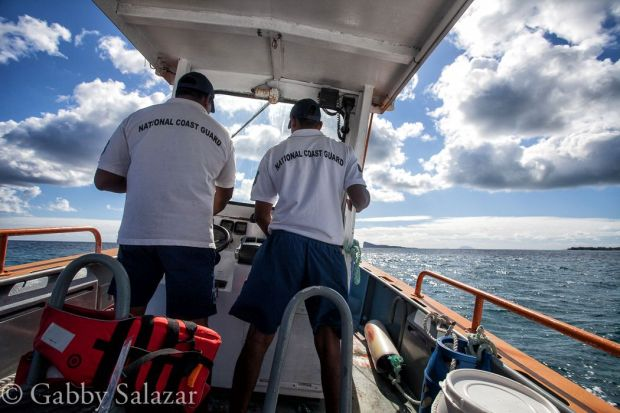 Food is delievered to Round Island by the Mauritian Natioanl Coast Guard every week or two throughout the year. The supplies are sent in tightly sealed barrels to protect contents from the rough seas.