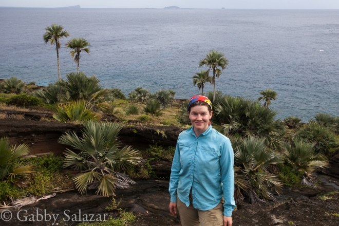 Me on Round Island, Mauritius